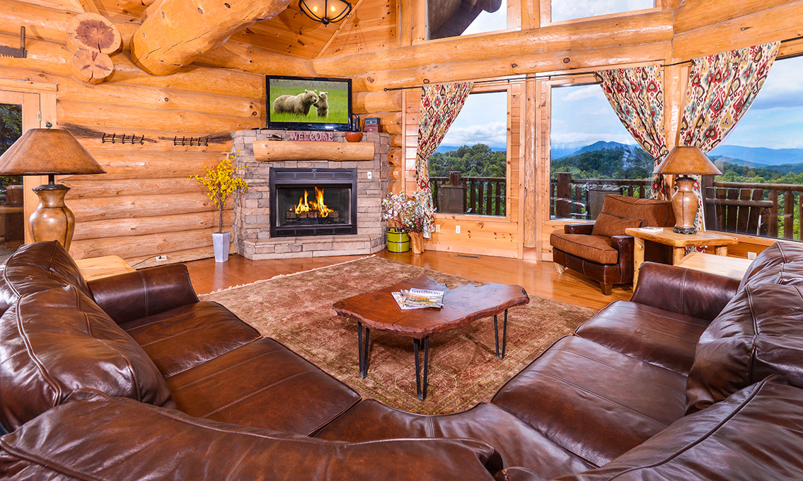 Cabin rental amenities in Pigeon Forge