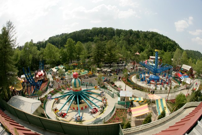 The Country Fair Dollywood In Pigeon Forge Tn