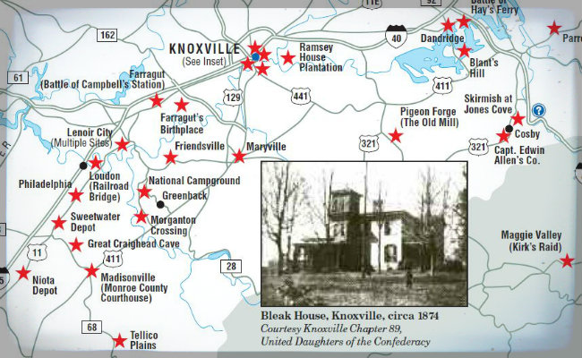 East Tennessee History Pigeon Forge And The Smoky Mountains In The Civil War