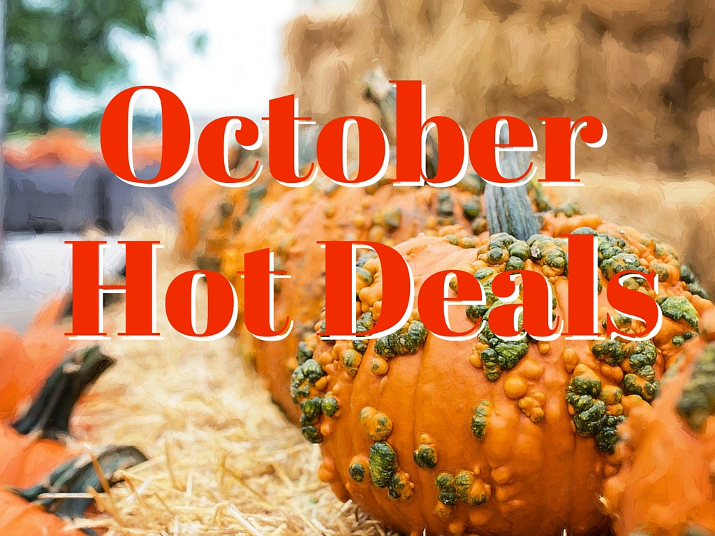 October HOT Deals in Pigeon Forge TN