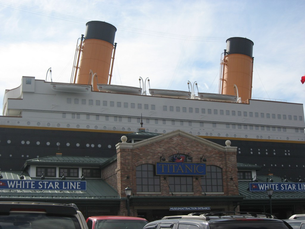 Three Generations visit the Titanic Museum in Pigeon Forge TN – Pigeon Forge Tourist Map