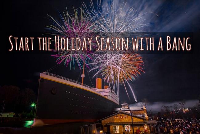 Start the Holiday Season with a Bang!