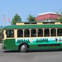 Taking the trolley is the best way to get around Pigeon Forge and Gatlinburg