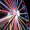 The Wheel located at The Island in Pigeon Forge, TN