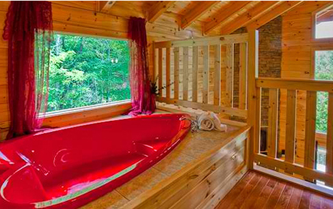 Genial Skinny Dipping, A Special Smoky Mountain Log Cabin ...