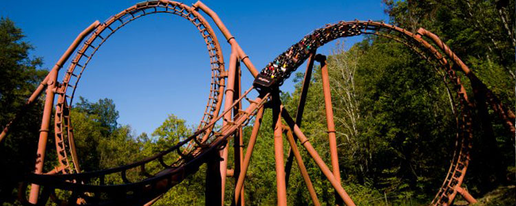 Tennessee Tornado in Craftsman's Valley, Dollywood